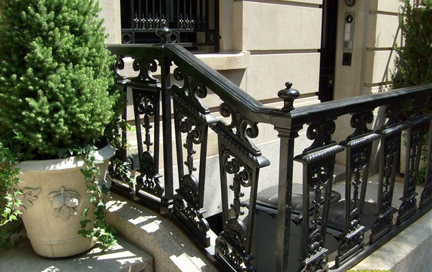 Post, Railing, and Decorative Balusters / Panels - 103 East 37th Street, New York City, New York